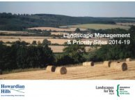 Landscape Management & Priority Sites 2014-19