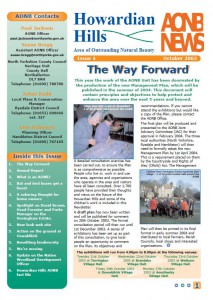AONB News 2003 front cover