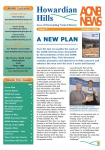 AONB News 2004 front cover