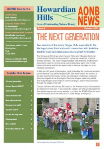 AONB News 2007 front cover