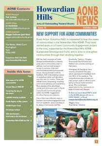 AONB News 2009 front cover