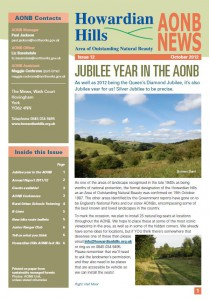 AONB News 2012 front cover